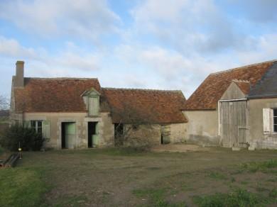 Forêt d'Orléans : Ferme à Loury