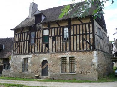 Gâtinais : Corps d'habitation à Château Renard