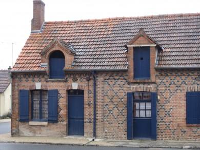 Sologne : Linéaire de bourg à La Ferté Saint Aubin