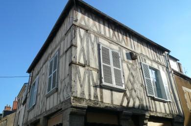 Val de Loire : Corps d'habitation à Jargeau