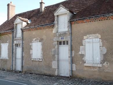 Val de Loire : Linéaire de bourg à Cléry Saint André