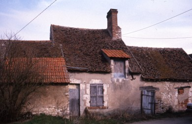 Val de Loire : Maison de pays à Mareau aux Prés