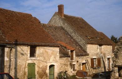 Val de Loire : Hameau à Mareau aux Prés